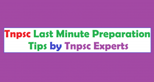 Tnpsc Group 2A Last minute Preparation tips by Tnpsc Experts