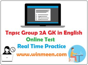 Tnpsc group 2 sample question papers with answers in english