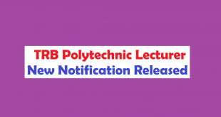 TRB Govt Polytechnic Lecturer Notification 2017 1058 Posts apply at www.trb.tn.nic.in
